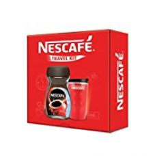 Buy Nescafe Classic Red Travel Kit, 200g with Jar (Limited Edition) from Amazon