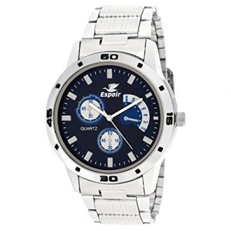 Buy Espoir Analog Blue Dial Men's Watch-Espoir0507 from Amazon