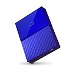 Buy WD My Passport 4TB Portable External Hard Drive (Blue) from Amazon