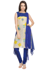 X HAUTE CURRY Women Printed Churidar Suit
