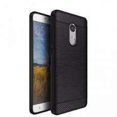 Luxury Hybrid Brushed Soft Rubber Skin Back Cover For Xiaomi Mi Redmi Note 4 for Rs. 149