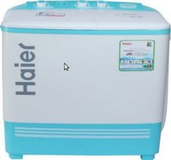Buy Haier XPB62-187Q Semi-automatic Top-loading Washing Machine (6.2 Kg, Aqua Blue) from Amazon