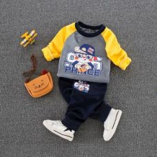 Buy Smart Gray Sweatshirt And Pant Set from Hopscotch