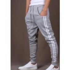 Pack Of 1 Grey Stylish Sports Track Pant for Men for Rs. 3