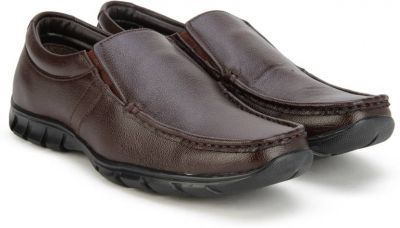 Buy Bata REMO Slip On Shoes  (Brown) for Rs. 626