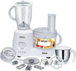 Buy Inalsa Fiesta Lx 650 W Food Processor  (White) from Flipkart