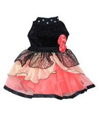 Flat 73% off on Cute Fashion Kids Girls Baby Princess Velvet and Net Party Wear Frock Dresses Clothes for 3 Months to 24 Months