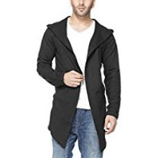 Tinted Men's Cotton Sinker Hooded Cardigan for Rs. 977