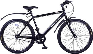 Buy Hero Urban 26 T Single Speed Mountain Cycle  (Black) for Rs. 4,999