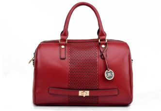 Diana Korr Hand-held Bag(Red) for Rs. 1,399