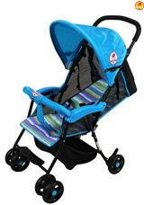 Buy Baybee Shade - Baby Buggy Stroller (Blue) from Amazon
