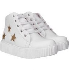Buy Clymb Histar White Sneakers Shoes For Women In Various Sizes for Rs. 479