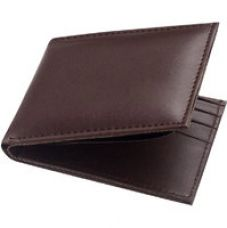 Buy Unique Stylish Look Genuine Leather Brown Wallet (Spr-002) for Rs. 109
