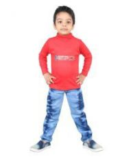 Get 55% off on Red Full Sleeve Kids T Shirt