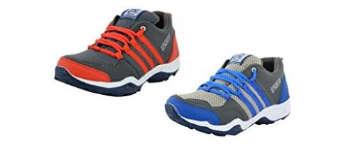 Buy ESSENCE Prefect Combo Pack of 2 Men's Multi Color Sports Shoes from Amazon