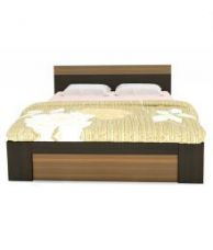White Cedar Queen Size Storage Bed for Rs. 14,990