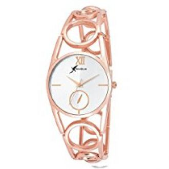 Rich Club RC-4091ROSE Oppo Ring Rose Gold Metallic Band Analog Watch - for Women for Rs. 399