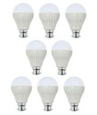 Buy Mg gold 15W Pack of 8 LED Bulb from SnapDeal