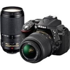 Get 16% off on Nikon D5300 DSLR Camera with AF-P DX 18 - 55 mm f/3.5-5.6G VR & AF-P DX 70-300 mm f/4.5-6.