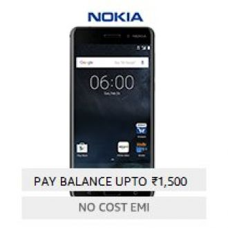 Buy Nokia 6 (Matte Black, 32GB) from Amazon