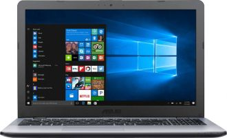 Buy Asus Vivobook APU Dual Core A6 - (4 GB/1 TB HDD/Windows 10 Home) X542BA-GQ006T Laptop  (15.6 inch, Matt SIlver, 2.3 kg) from Flipkart