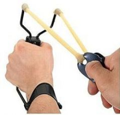 Buy Hanumex Powerful Folding Wrist Slingshot from SnapDeal