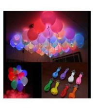 Flat 69% off on Junos Valentine Decor LED Balloons - Pack Of 15