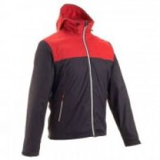 Arpenaz 100 Men Hiking Rain Jacket Red for Rs. 1,499