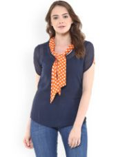 Buy Solid Regular Top for Rs. 440