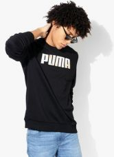 Flat 41% off on Puma Black Sweat Shirt