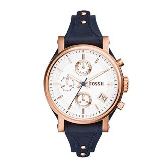 Buy Fossil Original Boyfriend Analog Silver Dial Women's Watch - ES3838 from Amazon