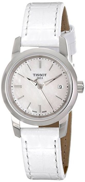 Buy Tissot Classic Dream Analog Mother of Pearl Dial Women's Watch T0332101611100 from Amazon