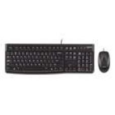 Buy Logitech MK120 Wired Keyboard And Mouse (Black) for Rs. 899