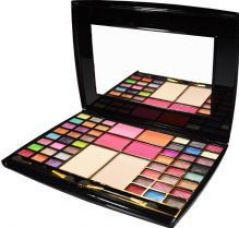 Buy Mars 48 Color Eyeshadow Pallete (Eyeshadow, Blusher + 2 Compact Powder) 48 g for Rs. 389