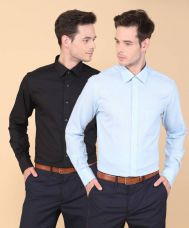 Buy Peter England Men Solid Formal Multicolor Shirt  (Pack of 2) from flipkart