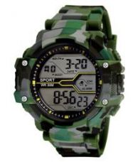 Get 54% off on Army Print (Green & Grey) Grandson Kids Digital Watch For Boys & Girls above 8 years of age.