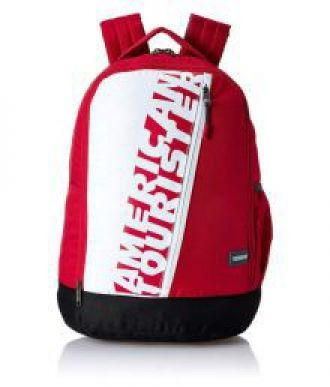 Buy Branded Red Polyester College Bags Backpack- 25-Ltrs from SnapDeal