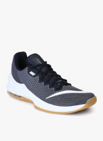 fbb537a9c741 Buy Nike Air Max Infuriate 2 Low Grey Basketball Shoes from Jabong ...