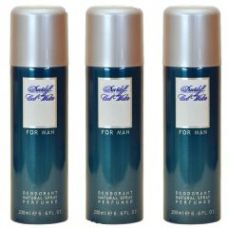 Flat 65% off on Set Of 3 Davidoff Cool Water Deodorant 200ml