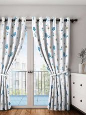Flat 78% off on Set of Single Room Darkening Door Curtains