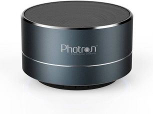 Get 67% off on Photron P10 Wireless 3W Super Bass Mini Metal Aluminium Alloy Portable Bluetooth Speaker With Mic 3 W Bluetooth  Speaker  (Deep Cobalt, Stereo Channel)