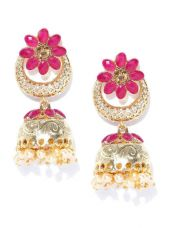 Get 75% off on Dome Shaped Jhumkas
