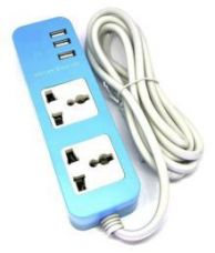 Flat 54% off on glink 2 socket with USB Universal Travel Adapter