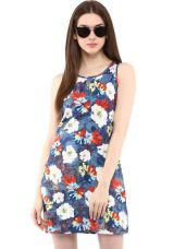 Get 76% off on Printed A-Line Dress