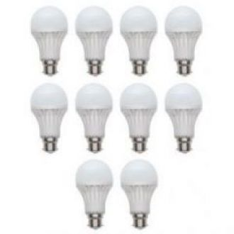 Flat 75% off on LED Bulb Energy Saver 7 Watt (pack Of 10)