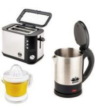 Buy BMS Lifestyle Toster Kettle Juicer 1400 Watts Pop Up Toaster for Rs. 2299