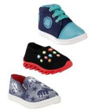 Buy Air-Magic Combo of 3 Casual Shoes for Boys (Multicolour) for Rs. 499