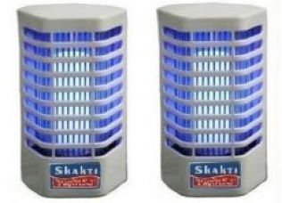 Flat 63% off on Set Of 2 Insect Killer Cum Night Lamp / Mosquito Killer Electronic