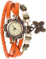 Flat 67% off on Women Watch Leather