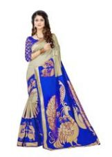 Get 64% off on Silk Saree With Blouse Piece